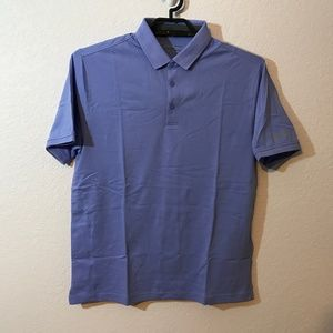 Under Armour NWT Purple Charged Pique Polo Shirt